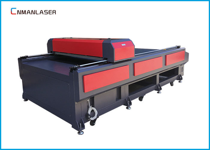Metal Wool Cnc Laser Cutting Machine For Felt Router Double Head 1325