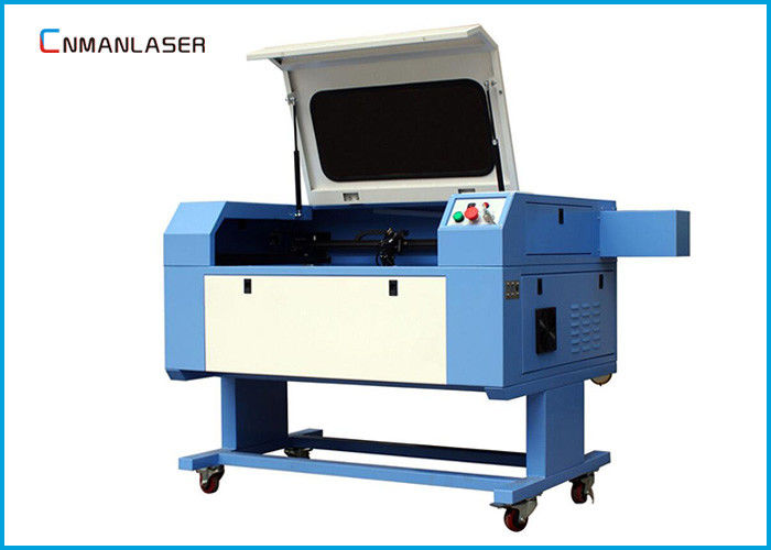 LCD Display Mini Laser Cutting Machine , Acrylic Leather Engraving Machine