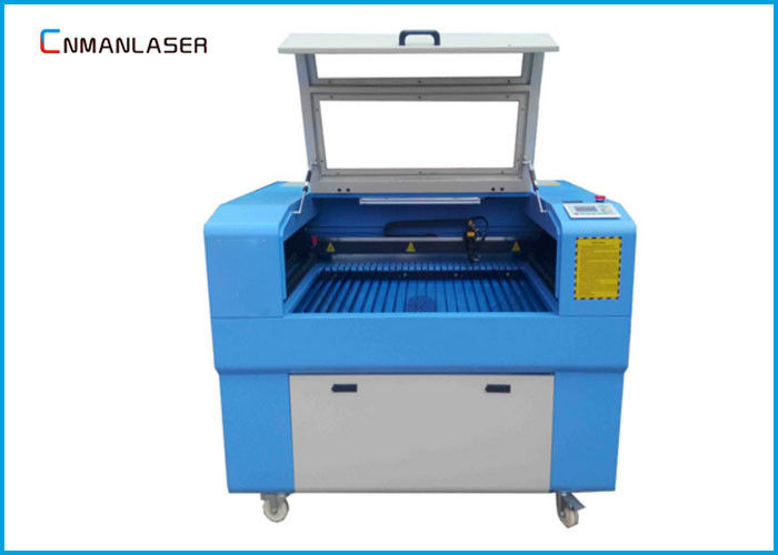 Mini Portable CO2 Laser Engraving Cutting Machine For Wood / Acrylic / Rubber Stamp