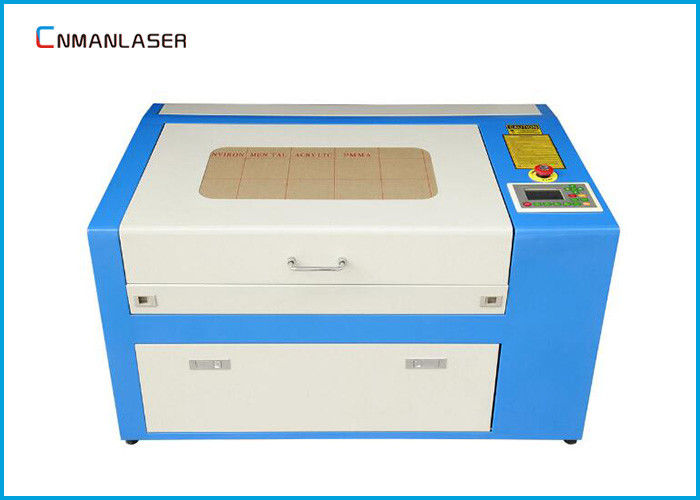 Plastic Acrylic Paper 60w Mini Laser Cutting Machine With DSP Control