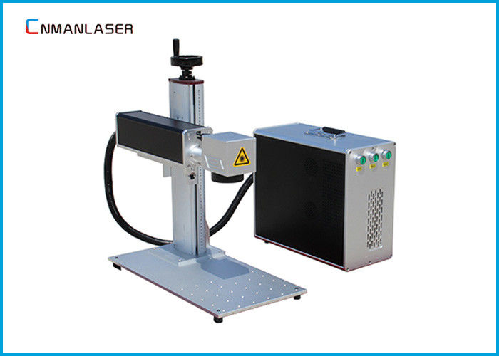 500w Consumption 20w Mini Color Metal Laser Marking Machine For Metal Electronic Components