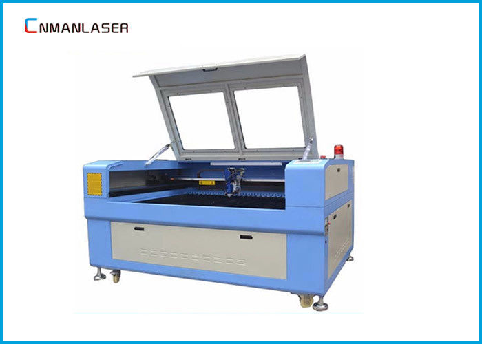 Acrylic Plastic Letters CO2 Laser Cutting Machine With 80w Tube CW-5000 Water Chiller