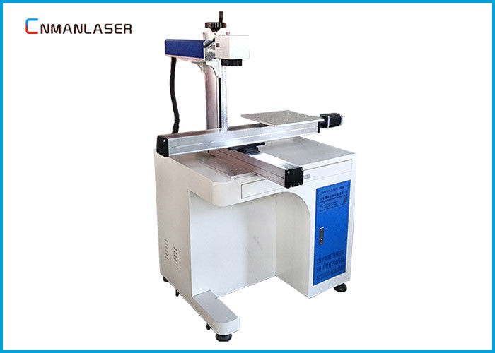 Jeans Leather Fabric Desktop Co2 Laser Engraver With Dynamic Focus System , Big Working Area