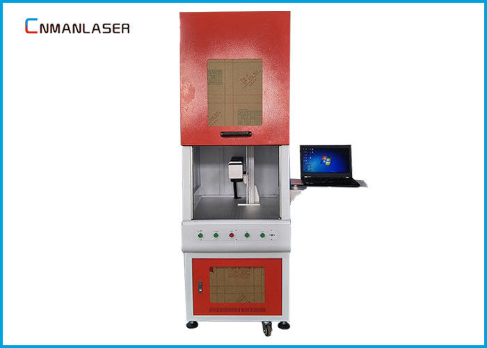 30w Enclosed Fiber Metal Laser Marking Machine With Excellent After Sales Service
